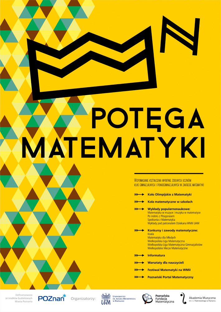 Plakat Projektu Potęga Matematyki